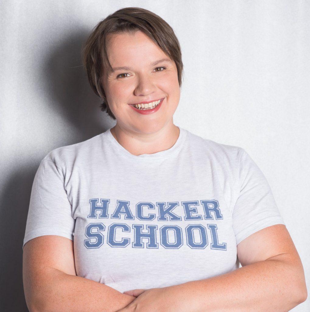 Foto von Julia Freudenberg von der Hacker School