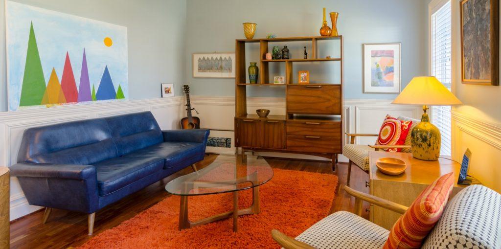 Foto eines einladenden Raumes.
