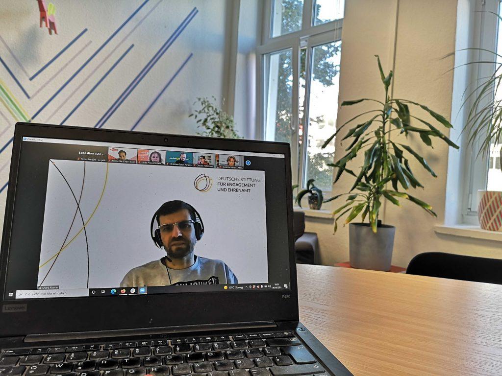 Barcamp #Digitalstrategie. Screenshot von Referent André Riemer